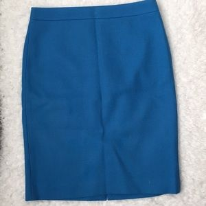 J. Crew size 6 100% wool pencil skirt.